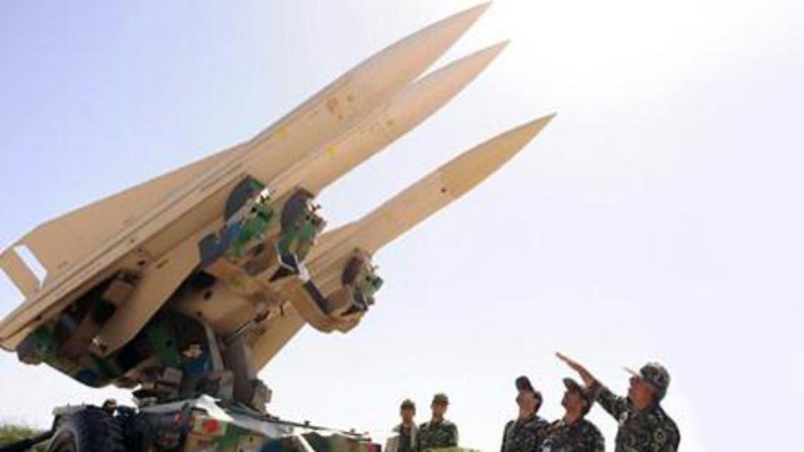 منظومة صاروخية تابعة للجيش الإيراني