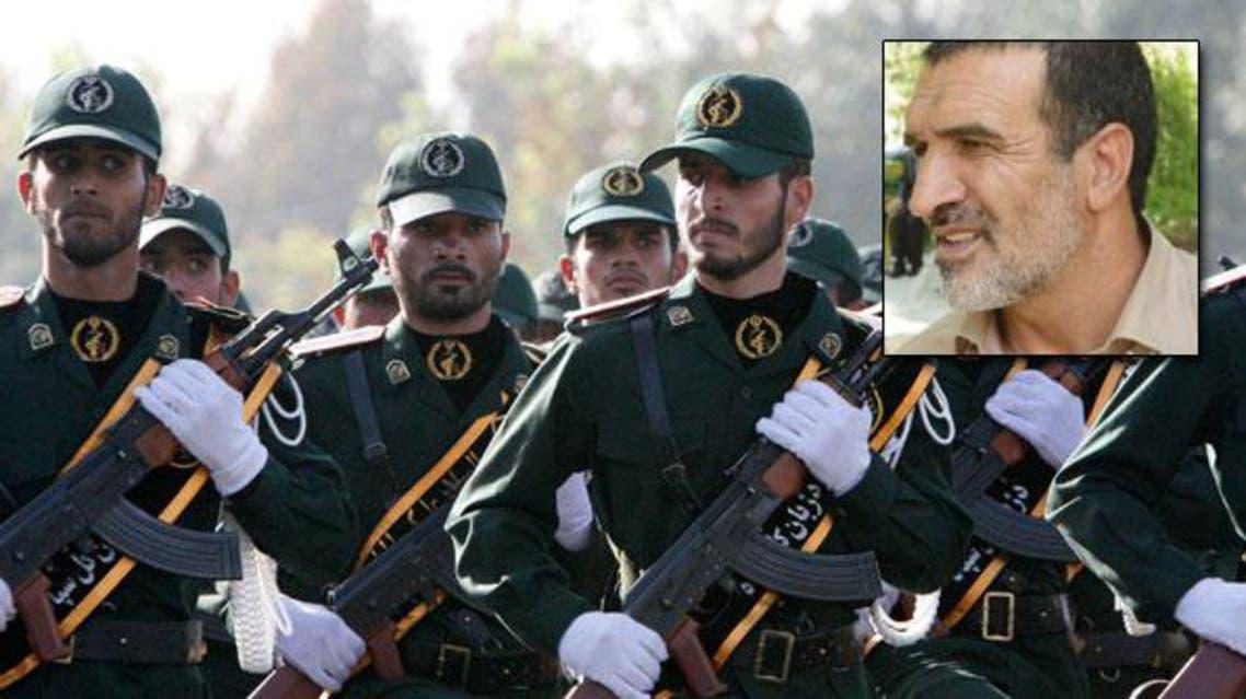 قوات الحرس الثوري وفي الاطار محمد جمالي باقلعة