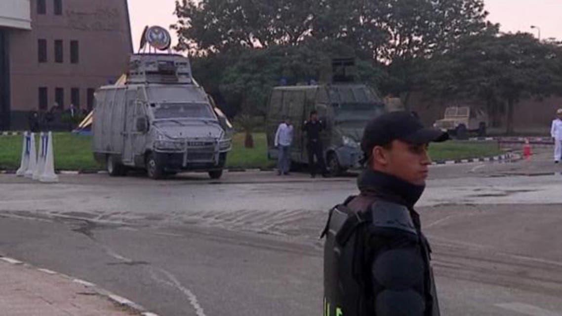 أكاديمية الشرطة في مصر حيث يحاكم مرسي