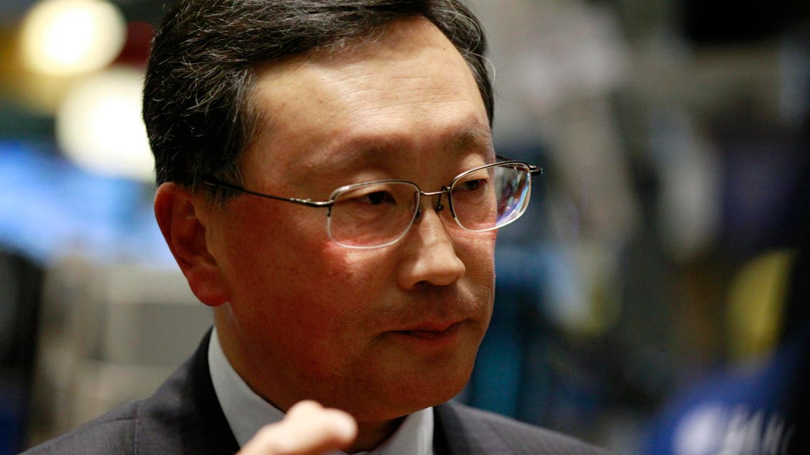 'I am going to rebuild this company' says BlackBerry's new chief John Chen. (File photo: Reuters)
