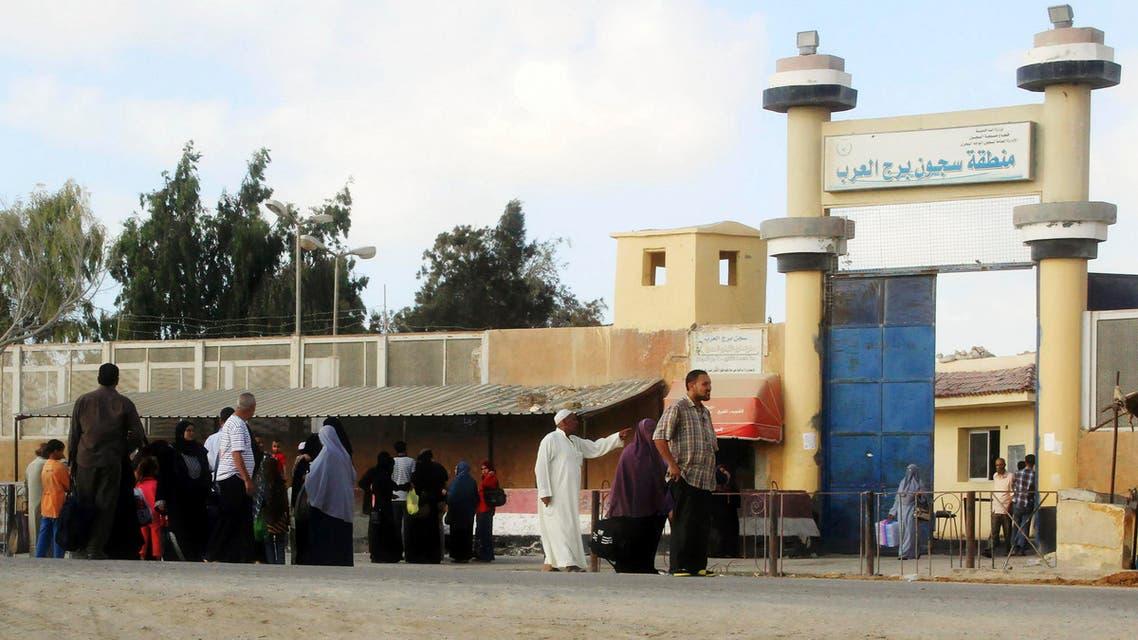 سجن برج العرب الموجود فيه محمد مرسي