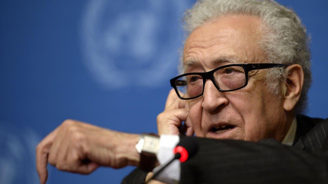 Brahimi (AFP)