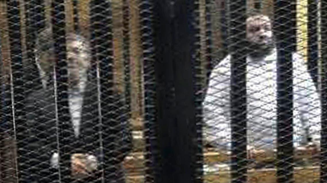 Mursi behind bars Egypt reuters