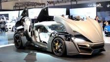 Lebanese super car Lykan Hypersport shines at Dubai motor show