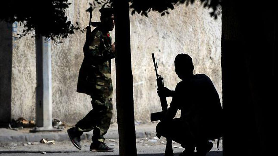 One man from each side was wounded in the ensuing firefight, including the leader of the Misrata brigade. AFP