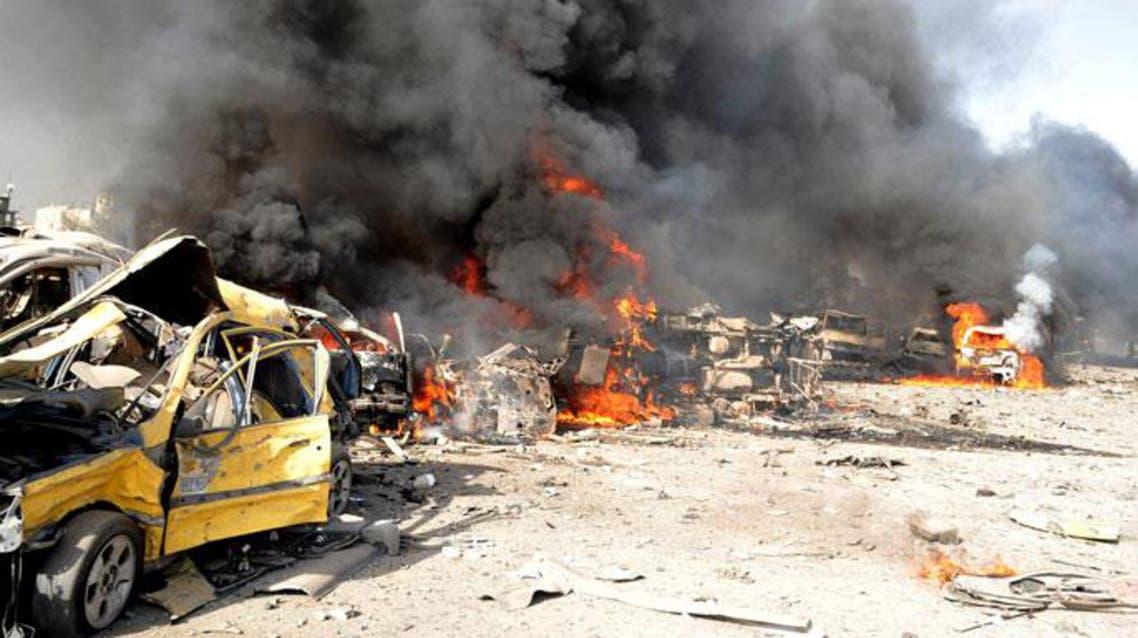 تفجير في دمشق