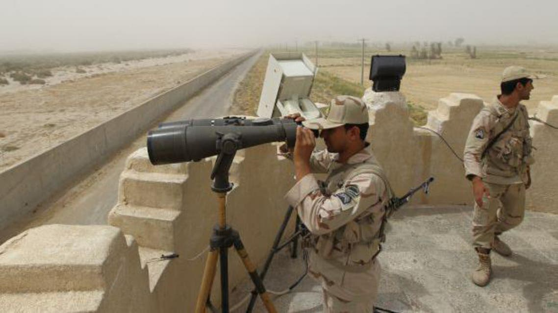 Iran border AFP