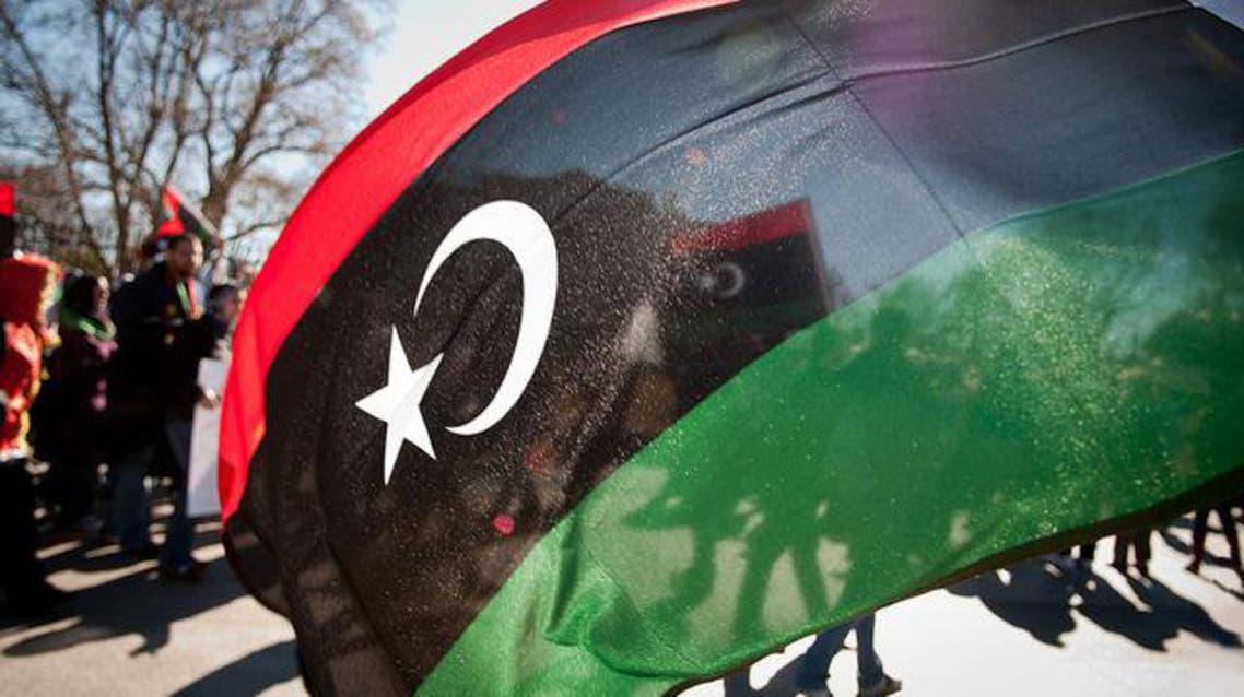 علم ليبيا احتفالات