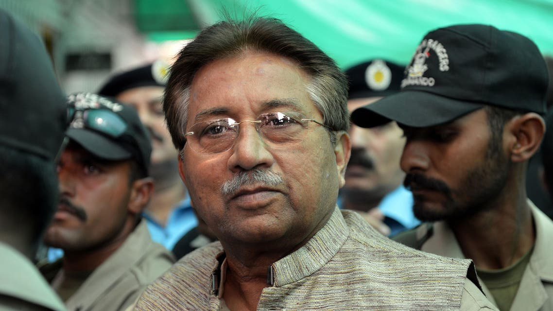 Former Pakistani president Pervez Musharraf AFP
