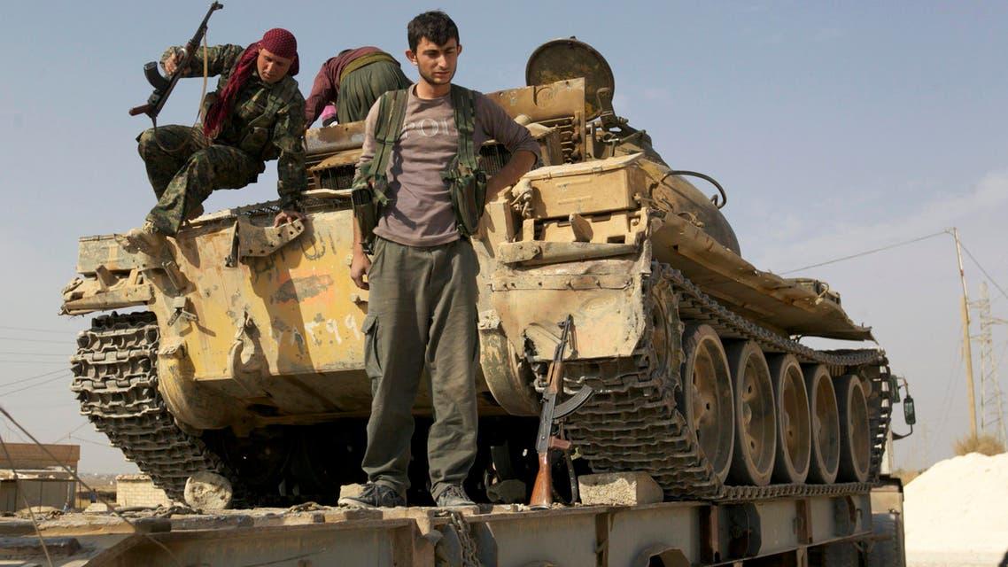 Syrian Kurds defeat Qaeda group in Ras al-Ain
