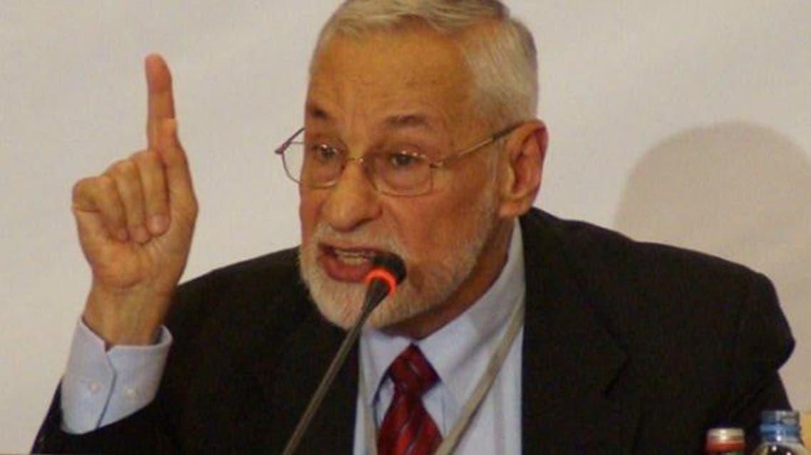 Former Syrian Muslim Brotherhood General Guide Ali Sadreddine Bayanouni. The Brotherhood party will have a Christian as its deputy leader. (Photo courtesy of Asharq al-Awsat)