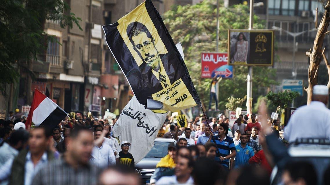 مظاهرات مؤيدة للرئيس محمد مرسي في القاهرة