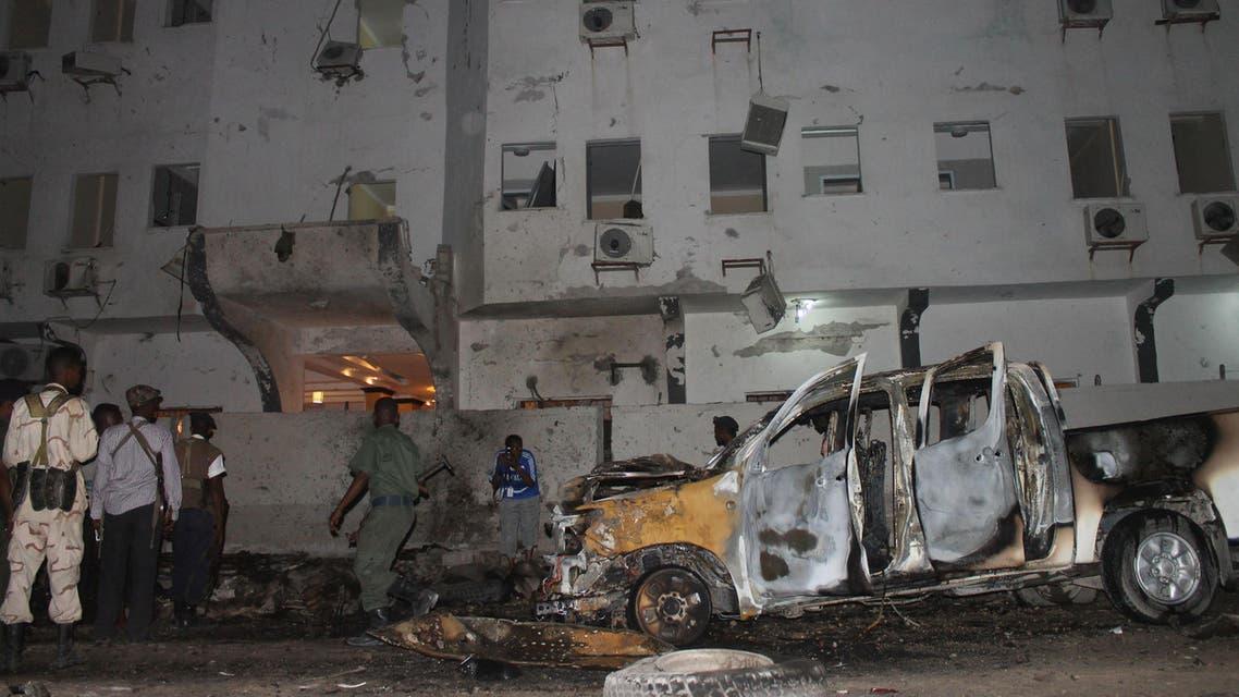 انفجار في مقديشو في الصومال