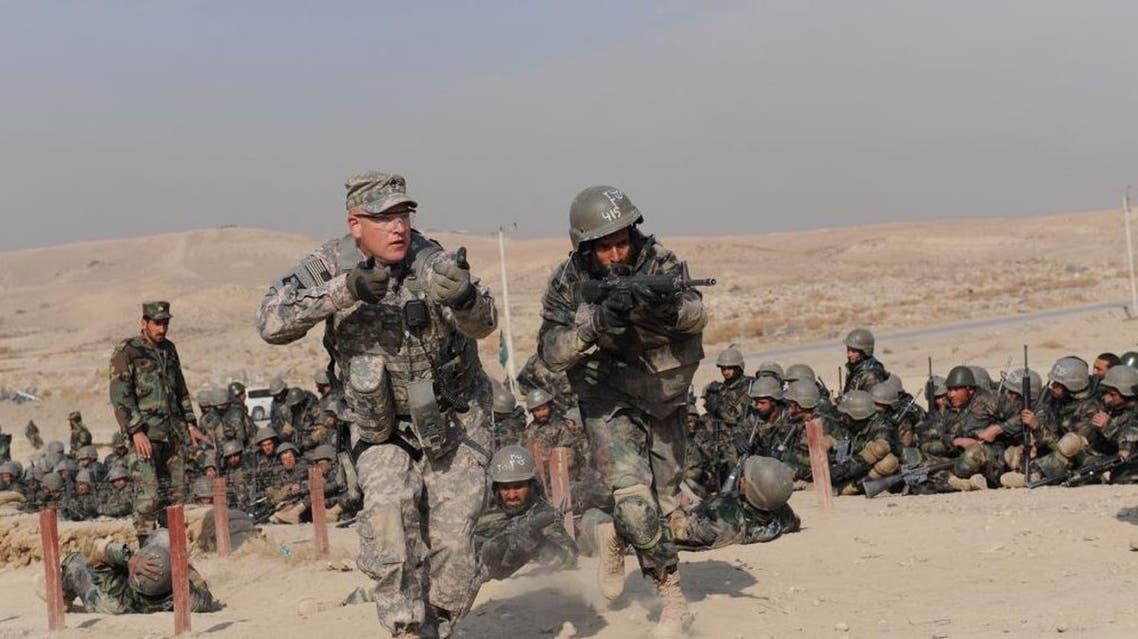 ارتش های آمریکا و افغان
