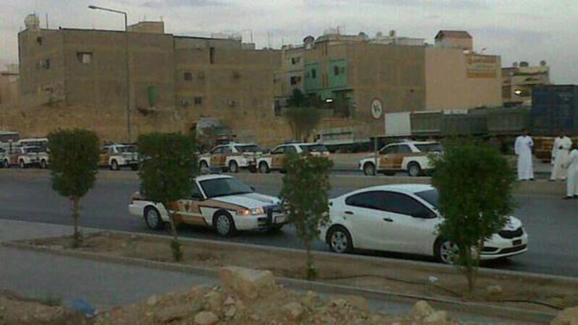 Saudi police cars