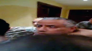 فيديو يظهر لحظة اختطاف رئيس الحكومة الليبية