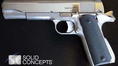 تصنيع أول سلاح فولاذي بفضل طابعة ثلاثية الأبعاد