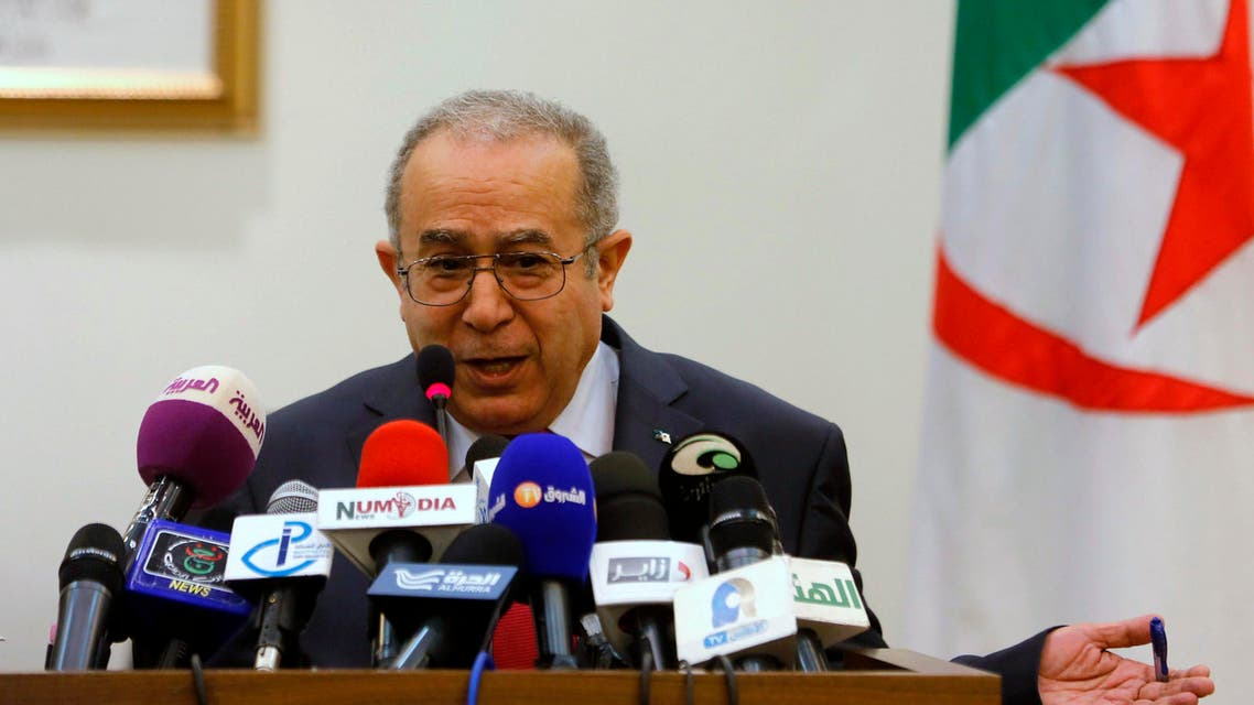 Algeria's Foreign Minister Ramtane Lamamra speaks during a news conference in Algiers November 10, 2013. (Reuters)