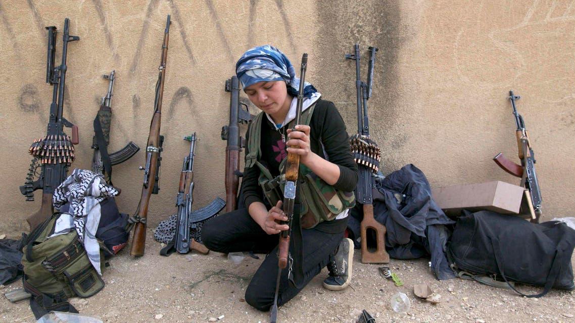 Reuters Kurdish fighter