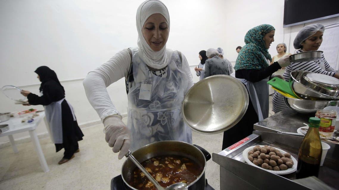 Syrian refugees celebrate their cuisine in Lebanon