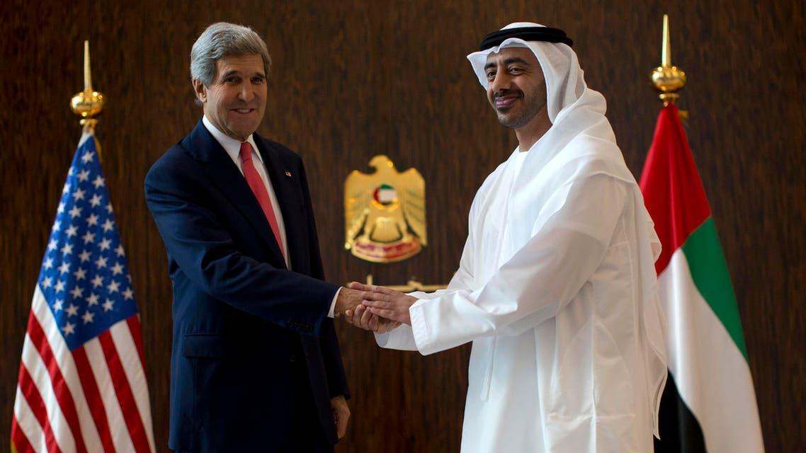 Kerry UAE reuters