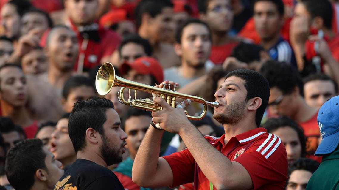 Egyptians celebrate African Champions League win (AFP)