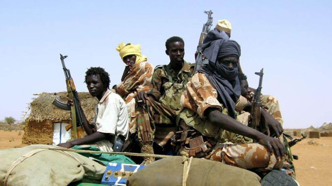 متمردين في السودان