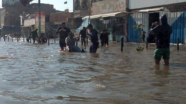 ثلاثة ايام من الامطار تحول بغداد الى فينيسيا عراقية
