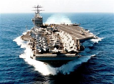 USS George Washington reuters