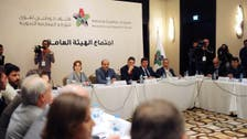 Syria opposition 'premier' says order, security top priorities