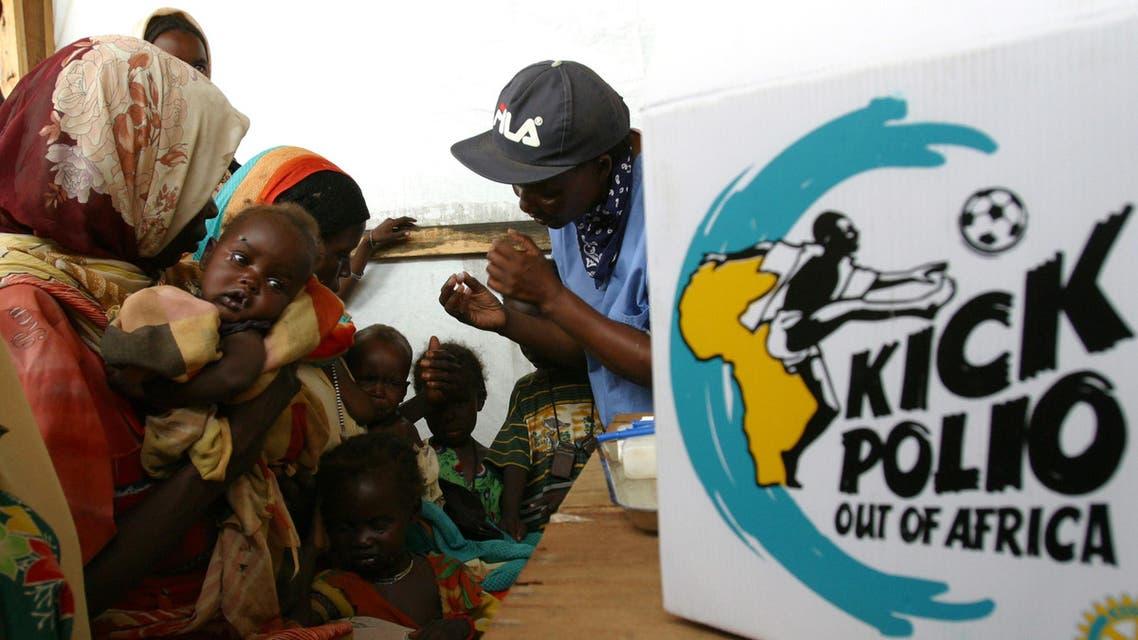 sudan polio reuters