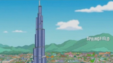 D'oh! Homer Simpson scales Dubai's Burj Khalifa