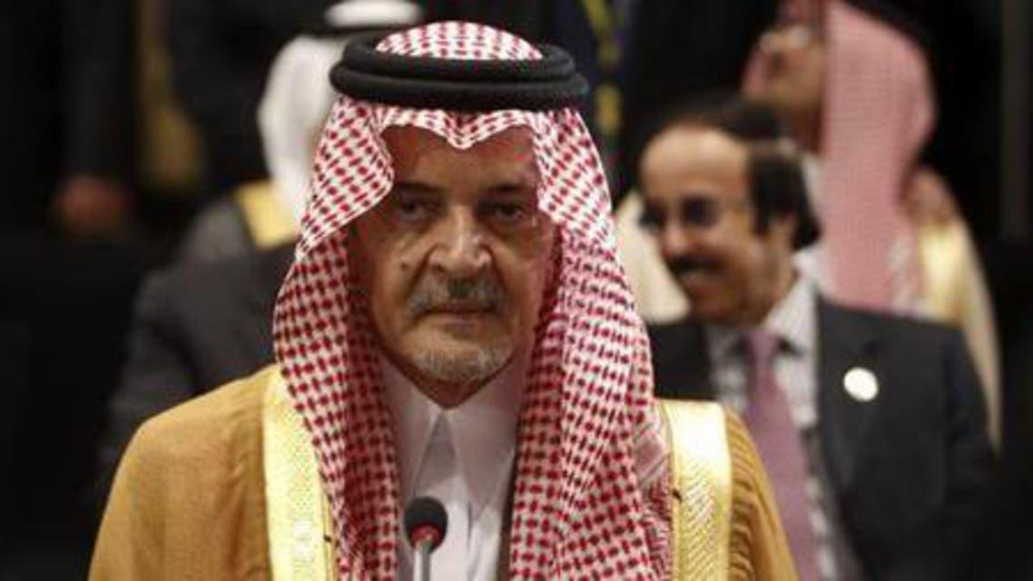 Saudi Arabia's Foreign Minister Prince Saud al-Faisal attends reuters