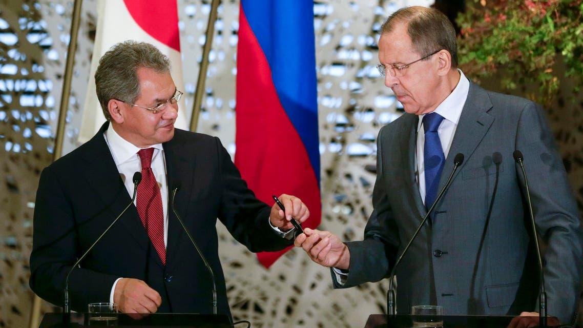 Defense Minister Sergei Shoigu and Foreign Minister Sergei Lavrov