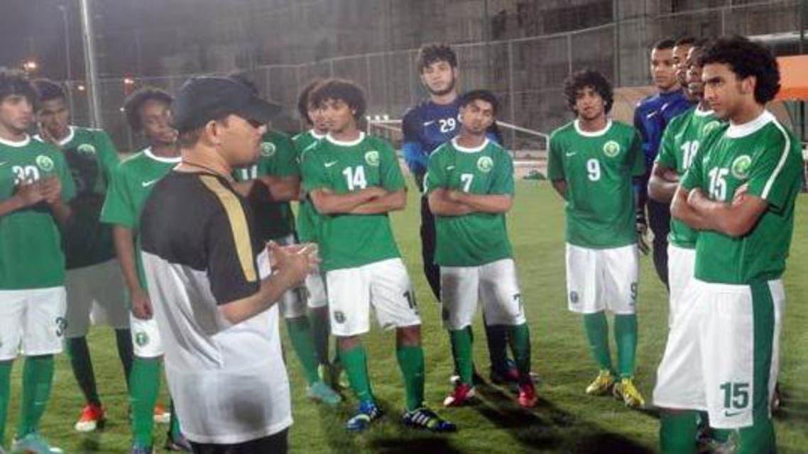 المنتخب الأولمبي السعودي