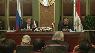 لافروف: مصر شريك أساسي لنا في منطقة الشرق الأوسط