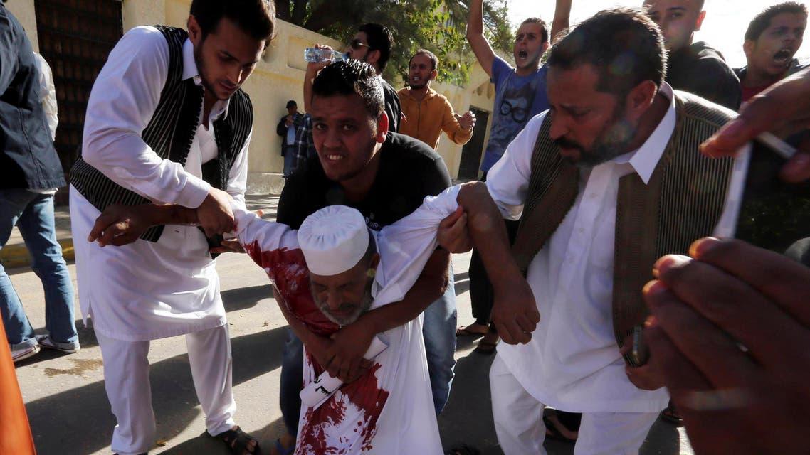 Libya shooting reuters