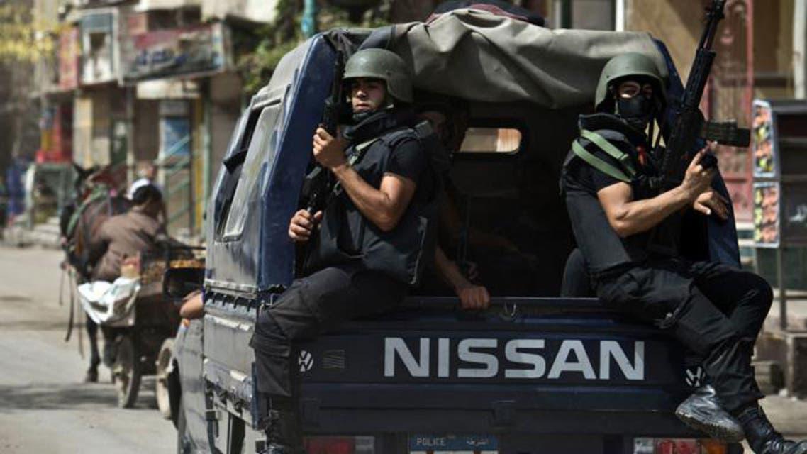 الشرطة المصرية بالشوارع