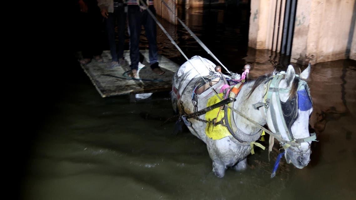Gaza fuel shortage causes sewage floods