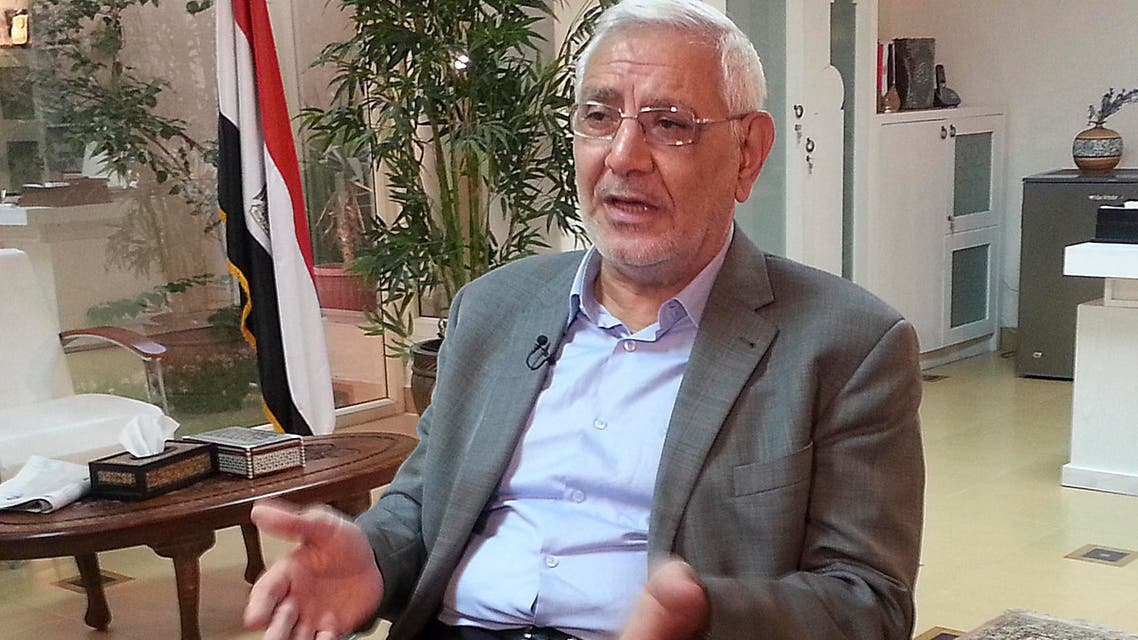 """Abdel Moneim Aboul Fotouh, a moderate Islamist, said he was among the first people to criticize Mursi's """"failed"""" policies but that he won't keep silent about the violations currently taking place in Egypt. (Reuters)"""