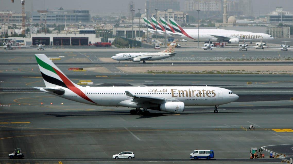 emirates airlines fleet AP