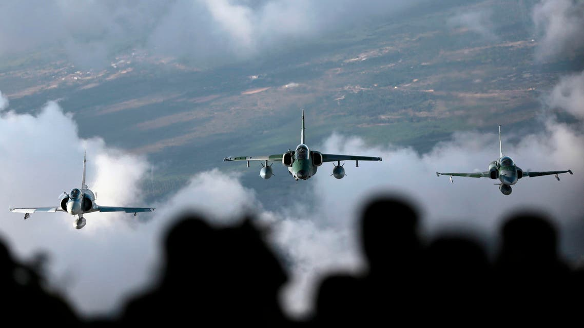 Jet fighters take part in CRUZEX, a multi-national air exercise hosted by the Brazilian Air Force reuters
