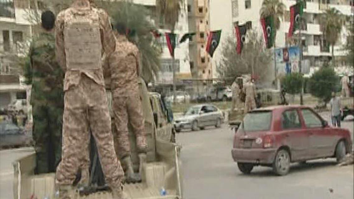 THUMBNAIL_ الجيش ينتشر في العاصمة الليبية
