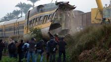 26 قتيلاً في اصطدام قطار مع حافلة ركاب جنوب القاهرة