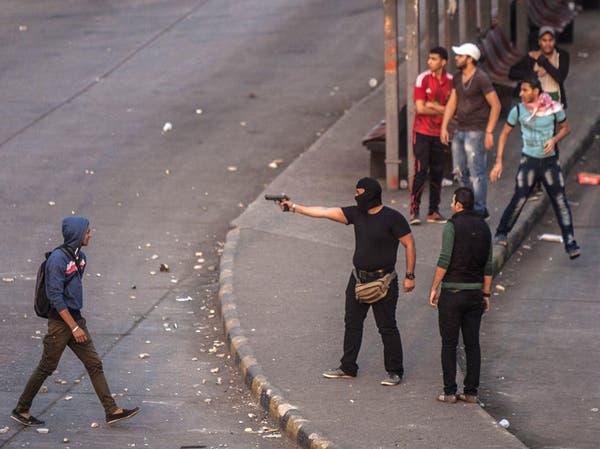 فيديو يظهر ملثماً يطلق النار على مؤيدي السيسي بالتحرير