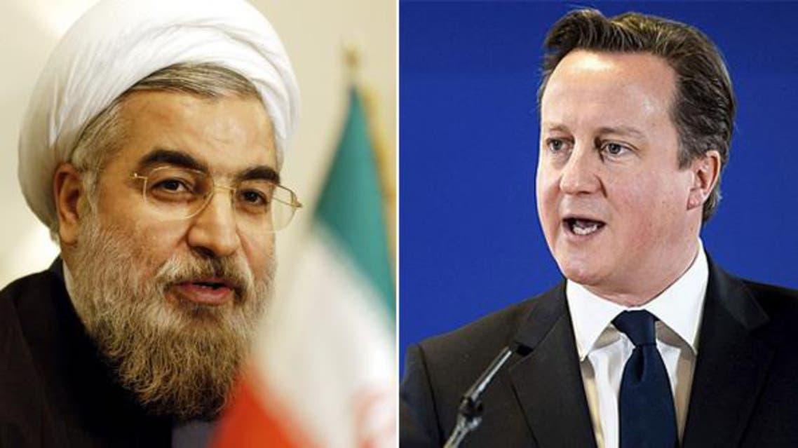 حسن روحاني وكاميرون