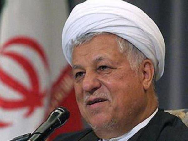 رفسنجاني: أميركا لن تقضي على داعش بدون مساعدة إيران