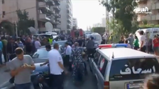 Two blasts hit Iran's embassy in Beirut