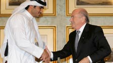 Blatter shuns comment on Qatar 2022 payment claims