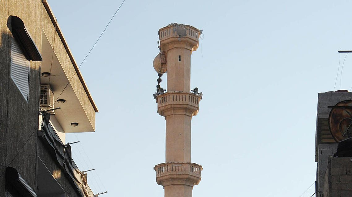 Mosques latest victims in Syria clashes